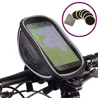 Btr Bike Handlebar Mobile Phone Mount, Holder Plus Puncture Patches
