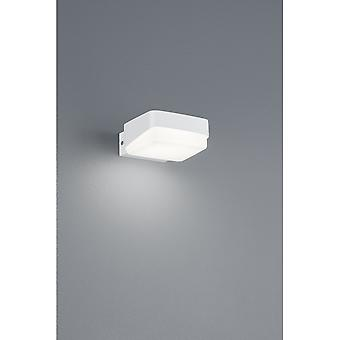 Trio Lighting Juba Modern White Matt Diecast Aluminium Wall Lamp