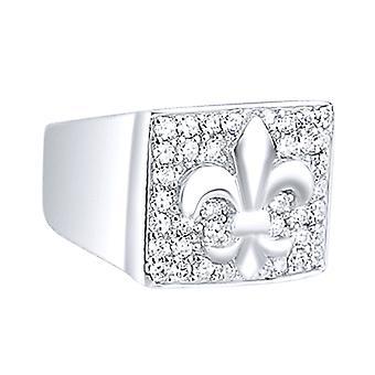 925 sølv pave ring - Fleur de lis
