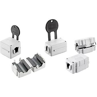 Würth Elektronik STAR-FIX 74271733 Ferrite bead cube + flexible cable ties 246 Ω Cable Ø (max.) 8 mm (L x W x H) 35.1 x 21.7 x 18.2 mm 1 pc(s)