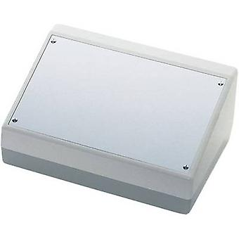 Desk casing 228 x 76 x 216 Acrylonitrile butadiene styrene, Aluminium Aluminium (anodised) OKW AS054468 1 pc(s)