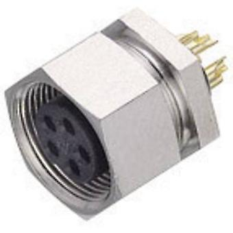 Binder 09-0098-00-05 Sub-micro Circular Connector Nominal current (details): 3 A