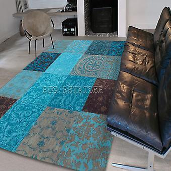 Rugs -Vintage - Turquoise 8001 - 8105