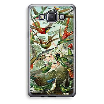 Samsung Galaxy A5 (2015) Transparent Case (Soft) - Haeckel Trochilidae