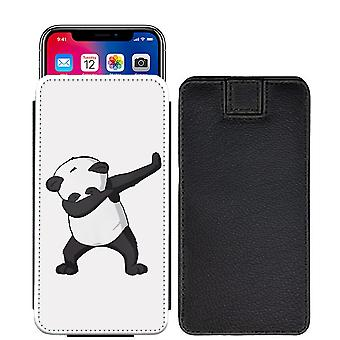 Quotes panda Custom Designed Printed Pull Tab Pouch Phone Case Cover for Sony Xperia R1 (Plus) [S] - Q04_web