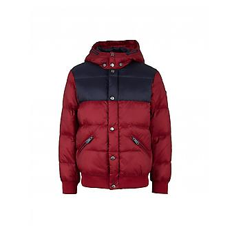 Armani Junior Yoke Detail Puffer Jacket