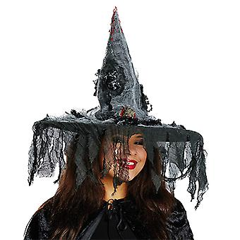Witch hat with mouse accessories Carnival Halloween of nasty scary Hat