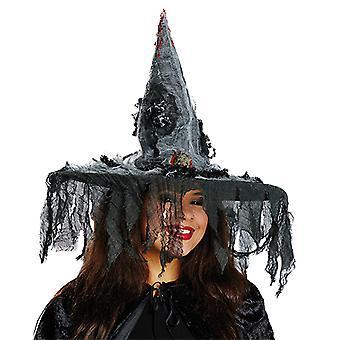 Chapeau de sorcière avec accessoires souris Halloween carnaval du méchant effrayant bonnet