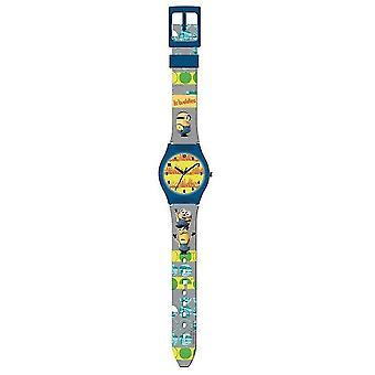 Hantlangare analoga armbandsur grå