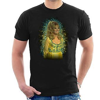 T-shirt TV vezes Dusty Springfield Flare brilho efeito dos homens