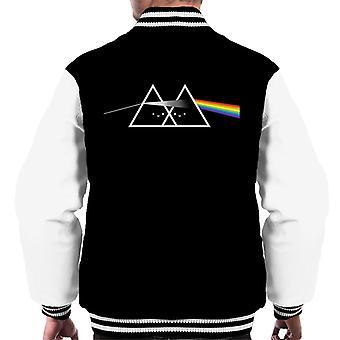 Pink Floyd Cute Side Of The Rainbow Men's Varsity Jacket