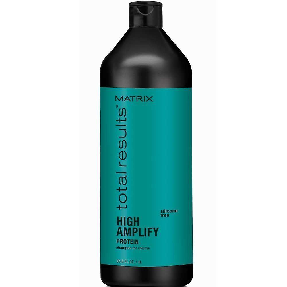 Shampoo Results 1000ml Matrix Total High Amplify Protein OkiXuwTlPZ