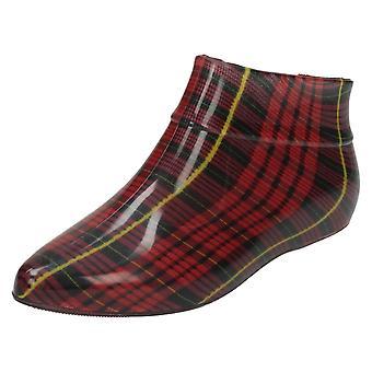 Womens Spot On Pixie Style Ankle Wellington