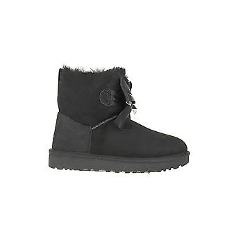UGG Gita Bow Mini 1098360BLK universal winter women shoes