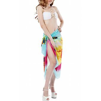 Waooh - Fashion - Sarong Floral and Butterflies