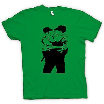 Kids T-shirt - Banksy Graffiti Art - Gay Police