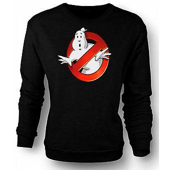 Barna Sweatshirt Ghostbusters - logoen skråkant