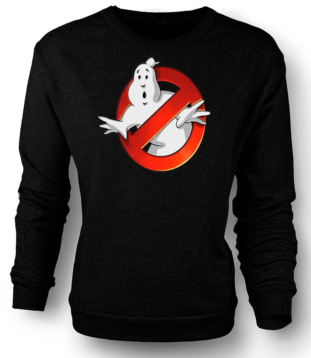 Mens Sweatshirt Ghostbusters - Logo Bevel