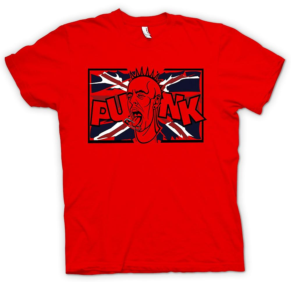 Mens T-shirt - Uk Punk