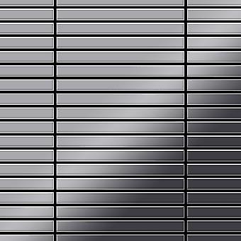 Metal mosaik rustfri LEGERING lineær-S-S-MM