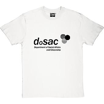 DoSAC: Department of Social Affairs and Citizenship Men's T-Shirt