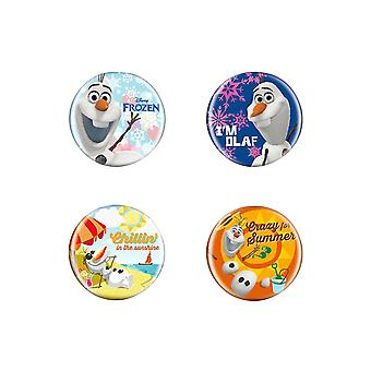 Disney Die Eiskönigin Button Pin Badge Set BMulticoloured