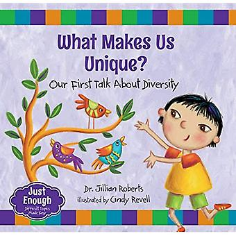 What Makes Us Unique?: Our First Talk about Diversity (Just Enough)