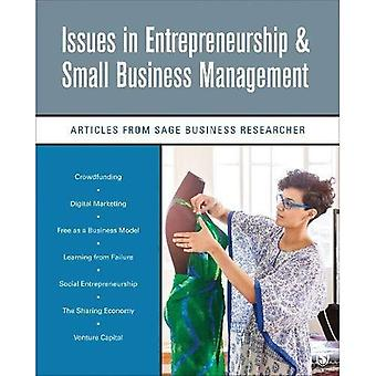 Issues in Entrepreneurship & Small Business Management