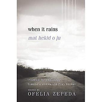 When It Rains: Tohono O'odham and Pima Poetry (Sun Tracks)