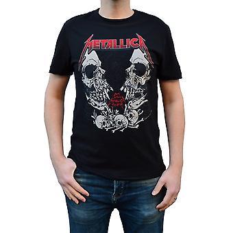 Amplified Metallica Birth School Black Crew Neck T-Shirt S