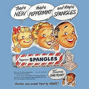 Spangles drinks mat / coaster