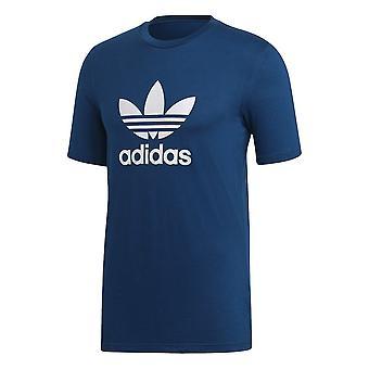 Adidas Blue Cotton T-shirt