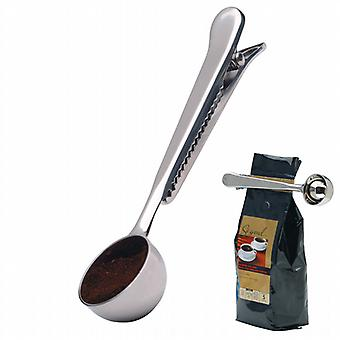 Stainless Steel coffee measure and bag clip