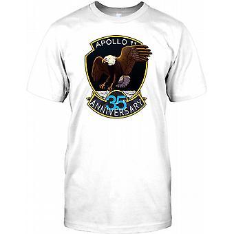 Apollo 11 35. Jahrestag-Abzeichen - NASA-Herren-T-Shirt