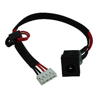 Toshiba Satellite A105-S2121 Compatible Laptop DC Jack Socket With Cable For Intel 945 Motherboard