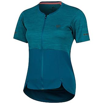 Pearl Izumi Teal-Breeze Symphony Womens Short Sleeved Cycling Jersey