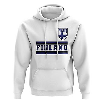 Finland Core Football Country Hoody (White)