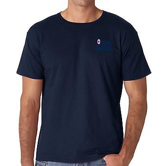 RAF Logo - officielle Royal Air Force bomuld T Shirt