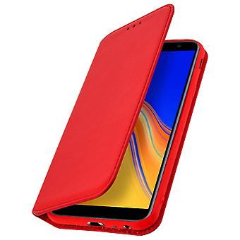 Slim Case, Classic Edition stand case for Samsung Galaxy J4 Plus - Red