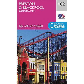 Preston & Blackpool - Lytham by Ordnance Survey - 9780319262009 Book