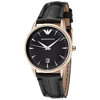 Emporio Armani Ar2445 Classic Leder Black Dial Ladies Watch