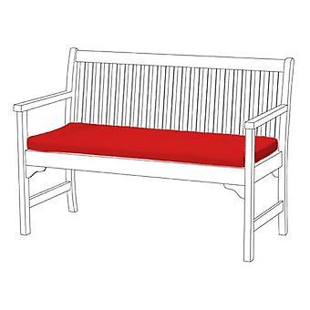 Gardenista® água vermelha resistente 3 lugares pad banco
