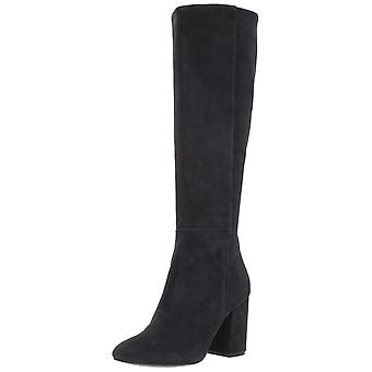 Kenneth Cole New York Women's Clarissa Knee High Tall Boot Stacked Heel Engin...