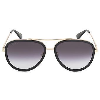Gucci-Aviator Sonnenbrille GG0062S 007 57