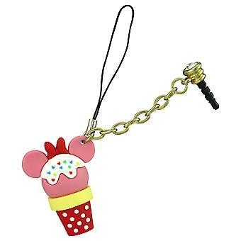 Key Chain - Disney - Minnie Mouse Ice Cream D-Lish Treats Phone Charm 25049