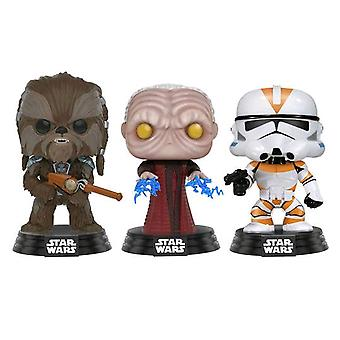 Star Wars Clone Wars Tarful Unhood Empr Utapau Cl US Pop 3Pk