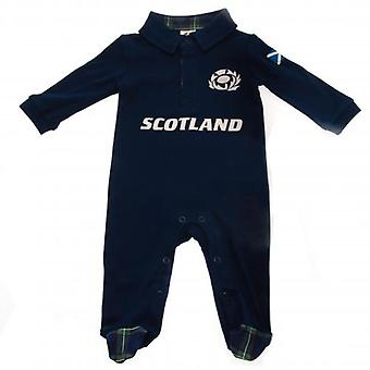 Scotland R.U. Sleepsuit 9/12 mths PL
