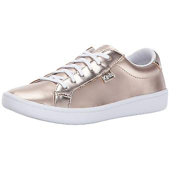 Kids Keds Girls Ace Leather Low Top Lace Up Fashion Sneaker