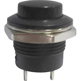 Pushbutton 250 Vac 3 A 1 x Off/(On) SCI R13-507A-05BK momentary 1 pc(s)