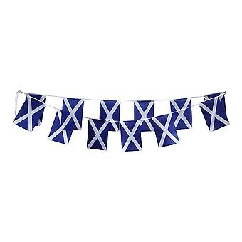 Schotland vlag ST ANDREW'S SALTIRE BUNTING RUGBY BUNTING 9M (30feet) 30 stof